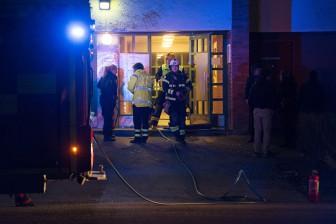 Källarbrand på Årbygatan