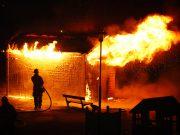 Brand vid Rekarnegymnasiet