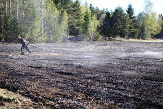 Gräsbrand vid Granhult