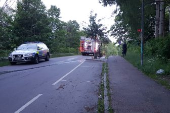 Mindre brand på Ådalsvägen