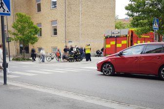 Person påkörd av bil
