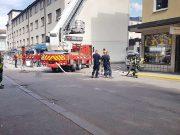 Brand på restaurang