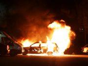 Bilbrand på Tallåsvägen