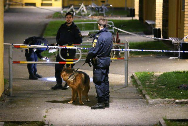 Man skjuten i Lagersberg